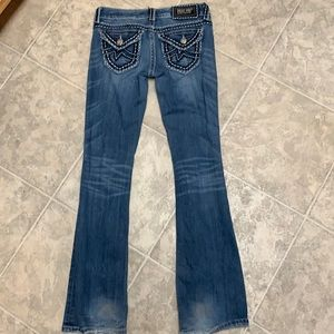 Miss me jeans size 26 Irene boot cut pants